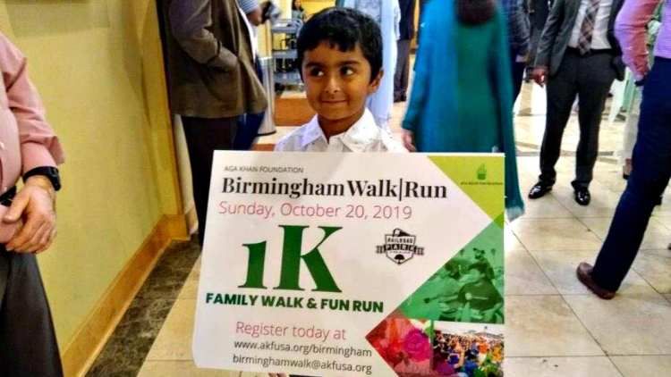 Aga Khan Foundation walk-run