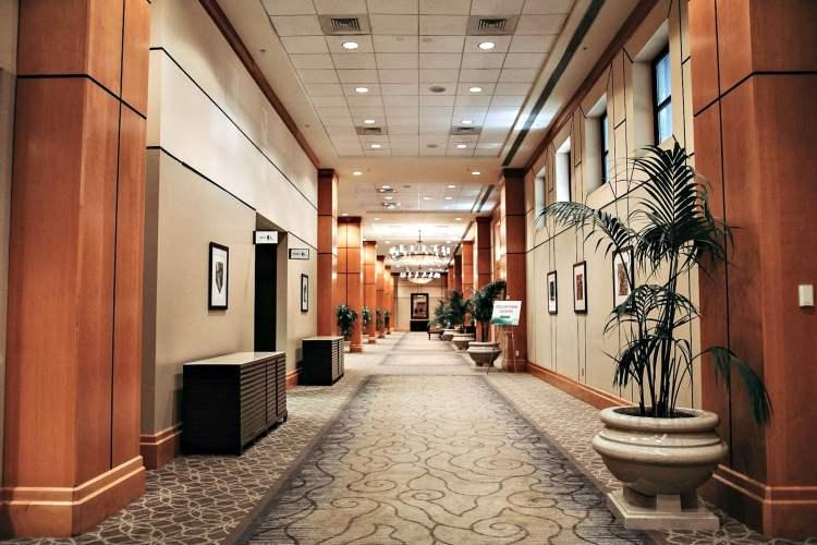 Hallway at The Sheraton Birmingham