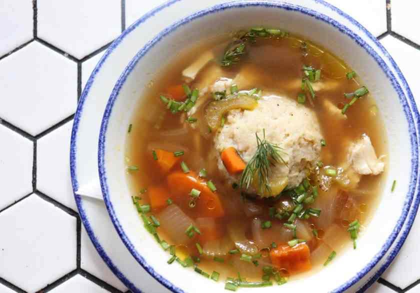 matzoh ball chicken soup in Birmingham