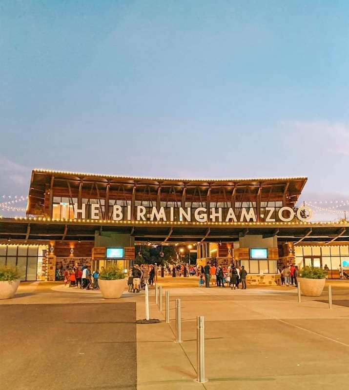 Exterior view of Birmingham Zoo