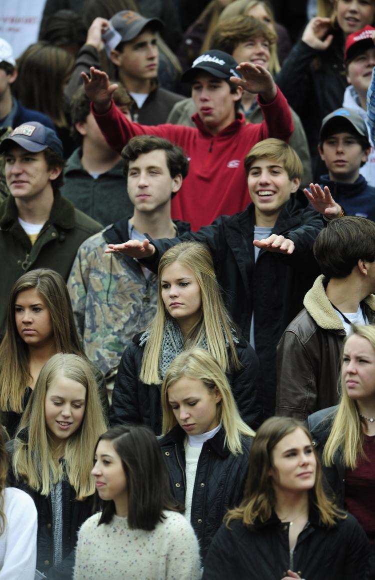 Alabama High School Athletics Association fans.