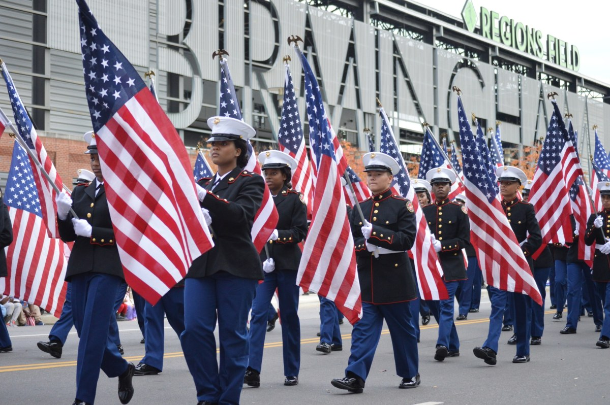 Birmingham's National Veterans Day Parade 2019, the nation's oldest celebration honoring our heroes (Photos)