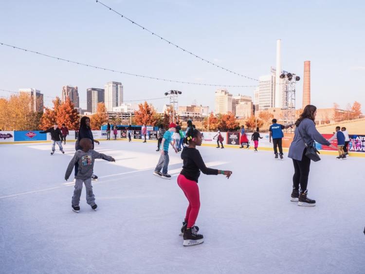 Birmingham, Brrrmingham Winter Adventure, ice skating, Railroad Park