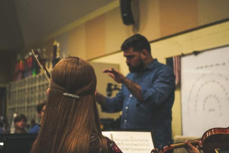 Kevin conducting ASYO