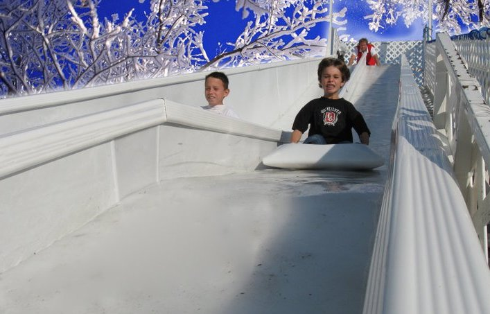 Birmingham's ice rink returns to Railroad Park with new 15′ ice slide on Friday, November 22