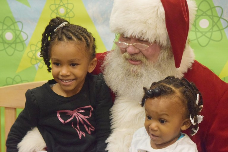 Birmingham, McWane Science Center, gingerbread houses, Santa's Gingerbread Workshop, Santa, holiday events