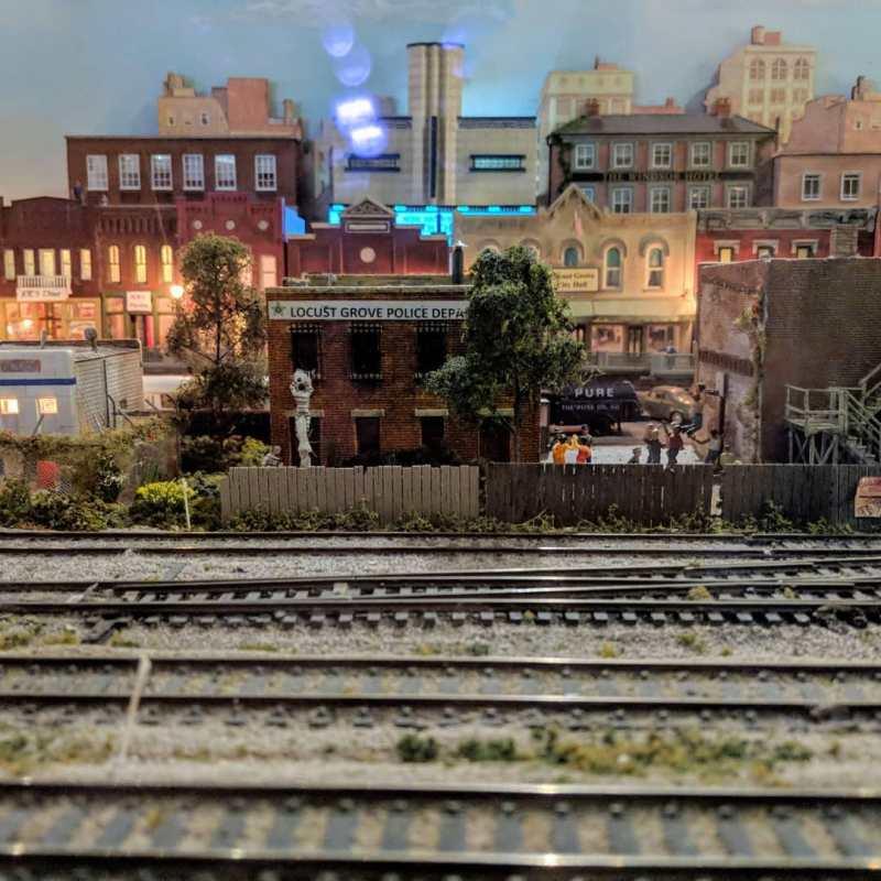 Birmingham, McWane Science Center, trains, Magic of Model Trains, train exhibits