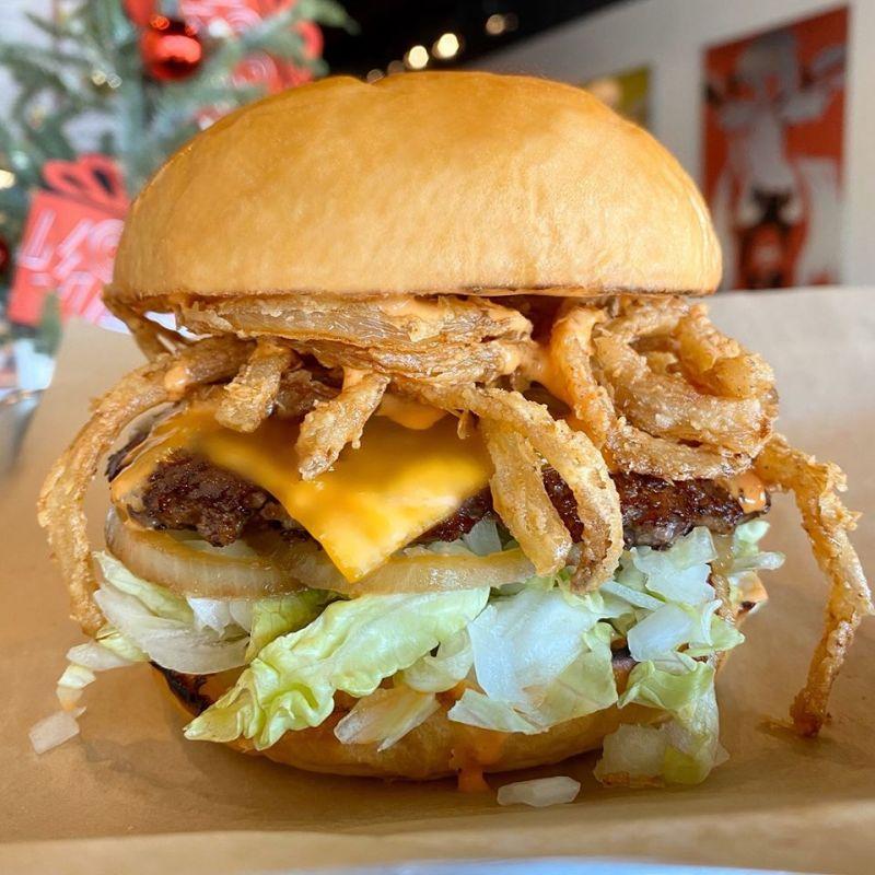 Mooyah burger in Hoover