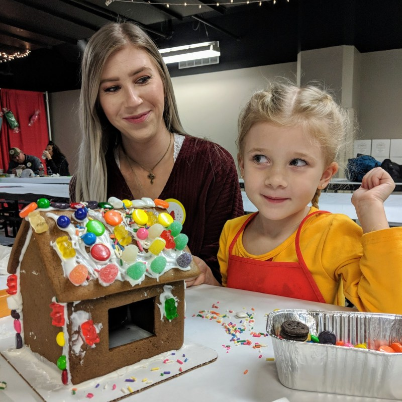 Birmingham, McWane Science Center, Gingerbread Workshop, gingerbread cookies, gingerbread houses, holiday traditions, Christmas