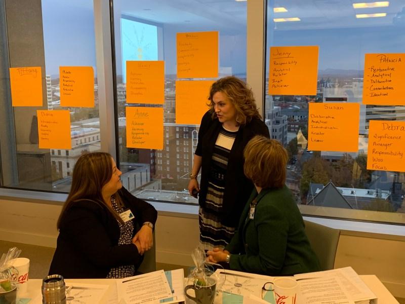 Participants at a previous Momentum Leadership Series workshop
