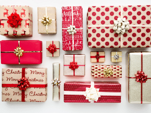Holiday Gift Wrap Booth