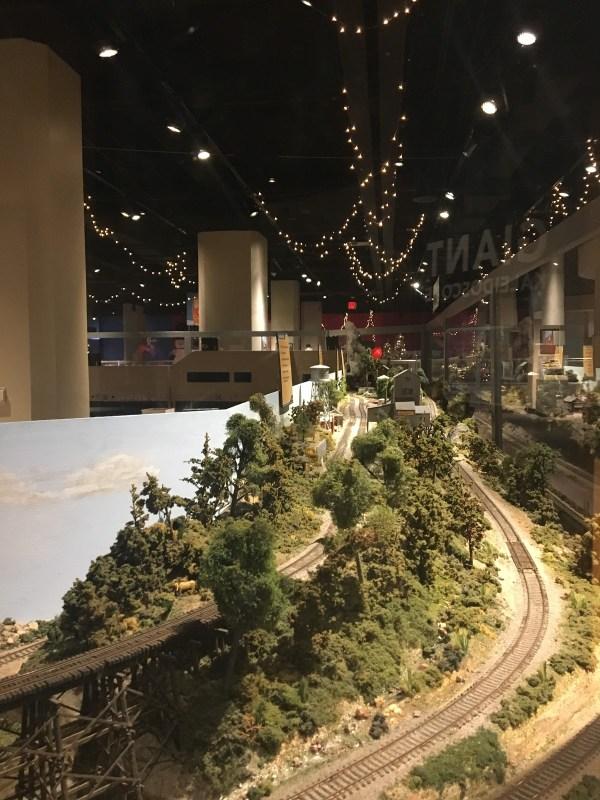 Birmingham, McWane Science Center, Magic of Model Trains, train exhibits, trains