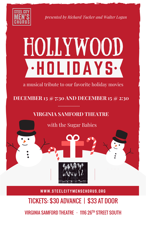 Hollywood Holidays is Steel City Men's Chorus' Upcoming Holiday show