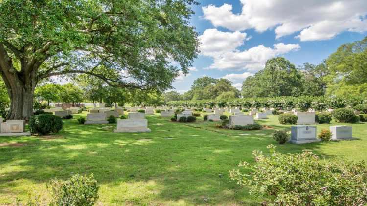 Elmwood Cemetery is in West End