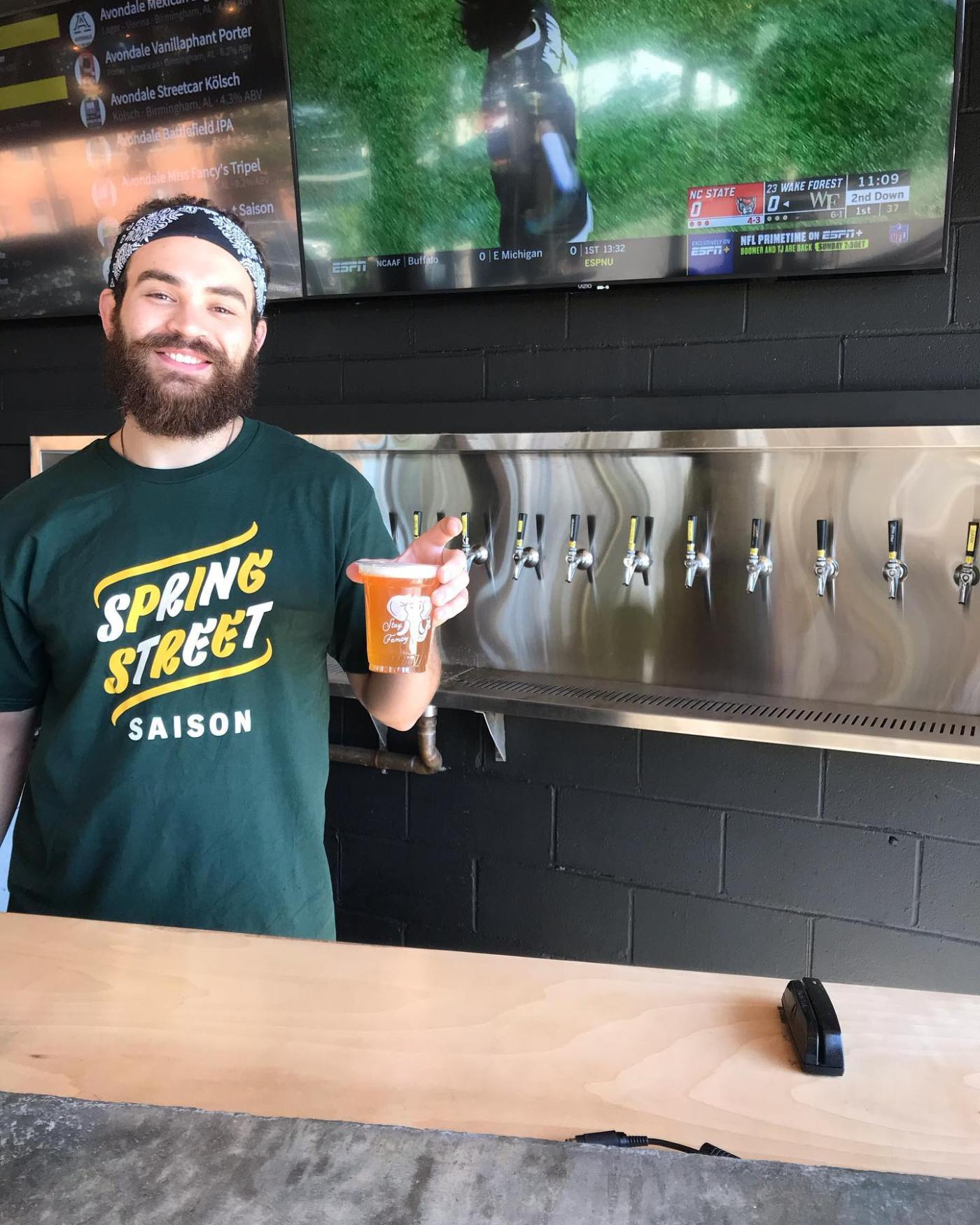 Birmingham, Avondale Brewing Company, college game day