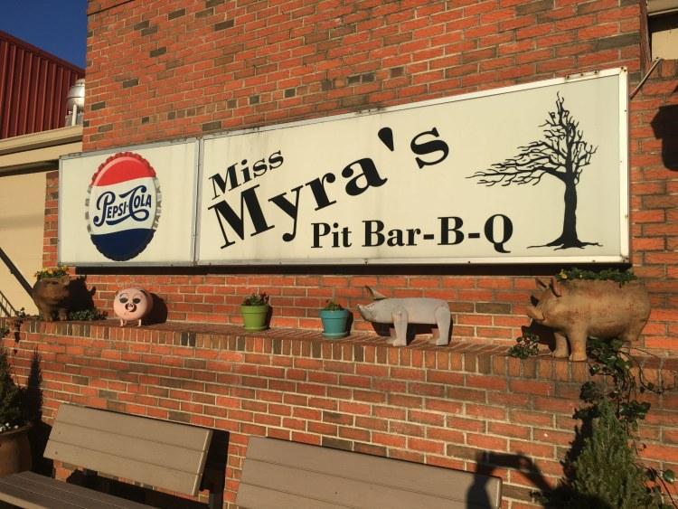 Andrew Zimmern loves Miss Myra's Pit Bar-B-Q