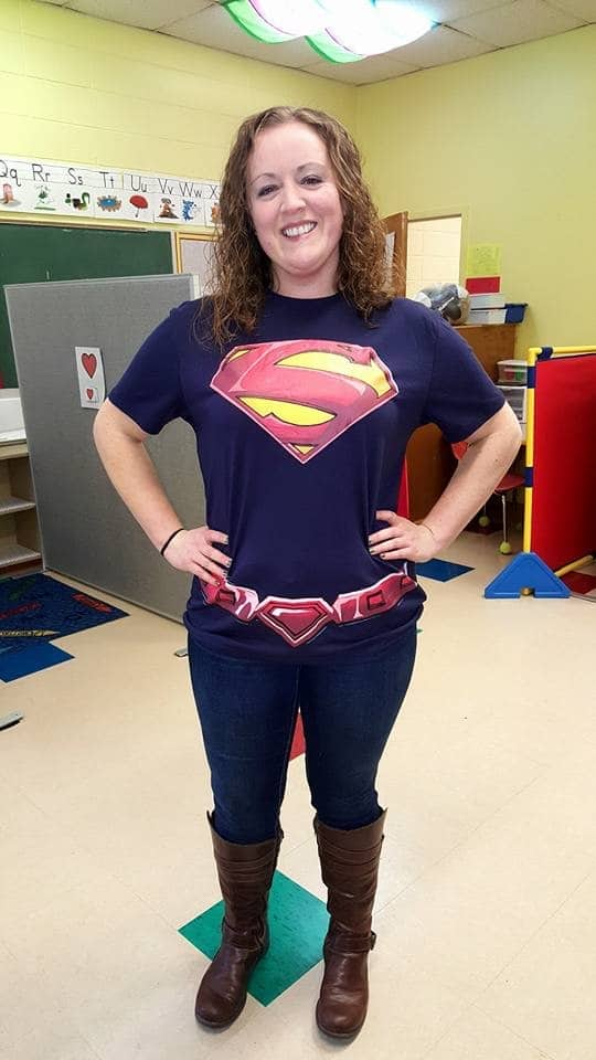 Katie Weiland as a special ed teacher