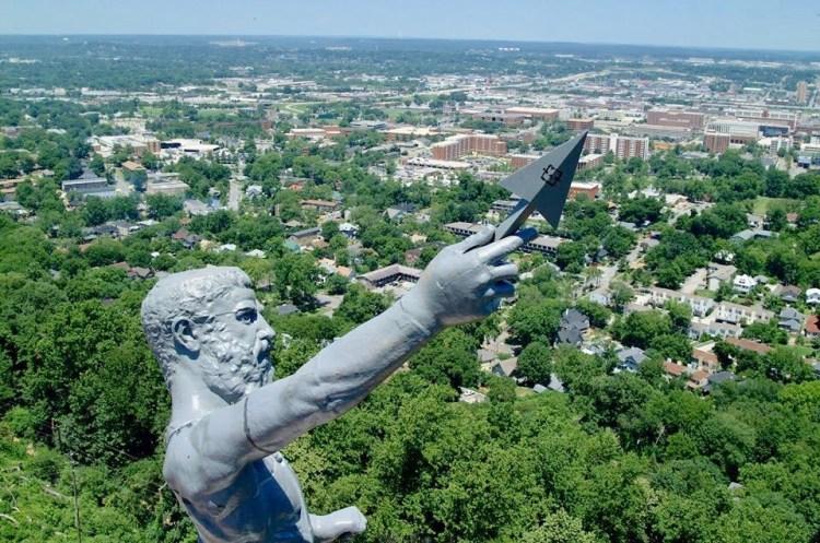 Birmingham, Vulcan Park and Museum , Driver's Way, Vulcan statue