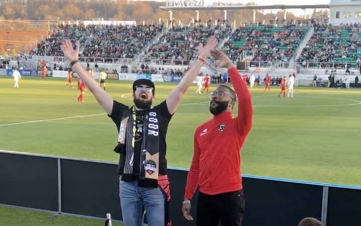 Songs, cheers, great soccer, sold out stadium, Birmingham Legion FC has arrived
