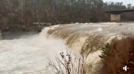 Wow! Watch our compilation of Alabama's roaring waterfalls