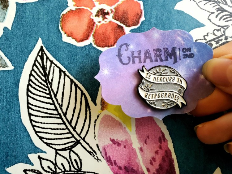 mercury in retrograde pin from charm on 2nd
