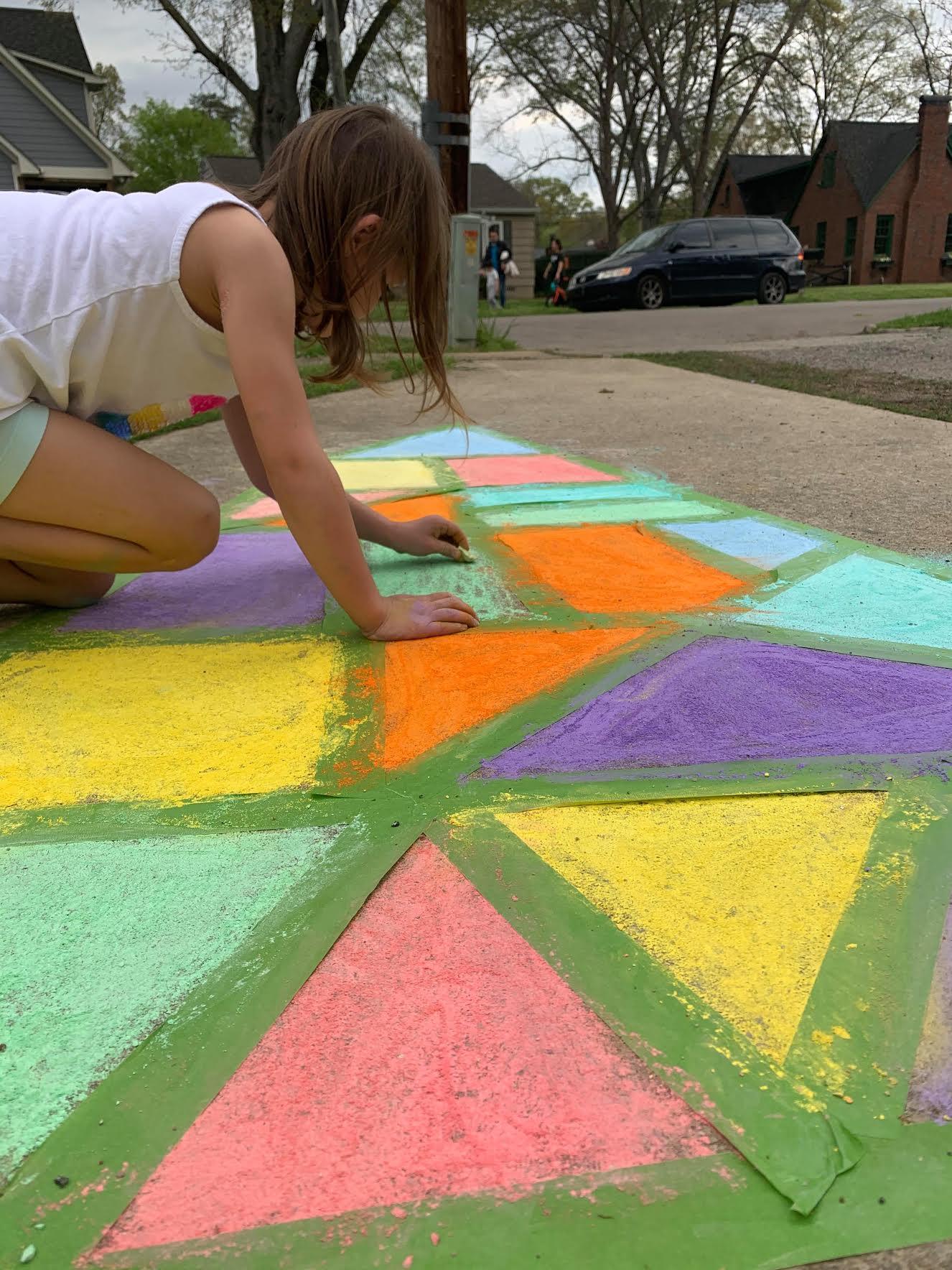 Birmingham, chalk art, chalk your walk