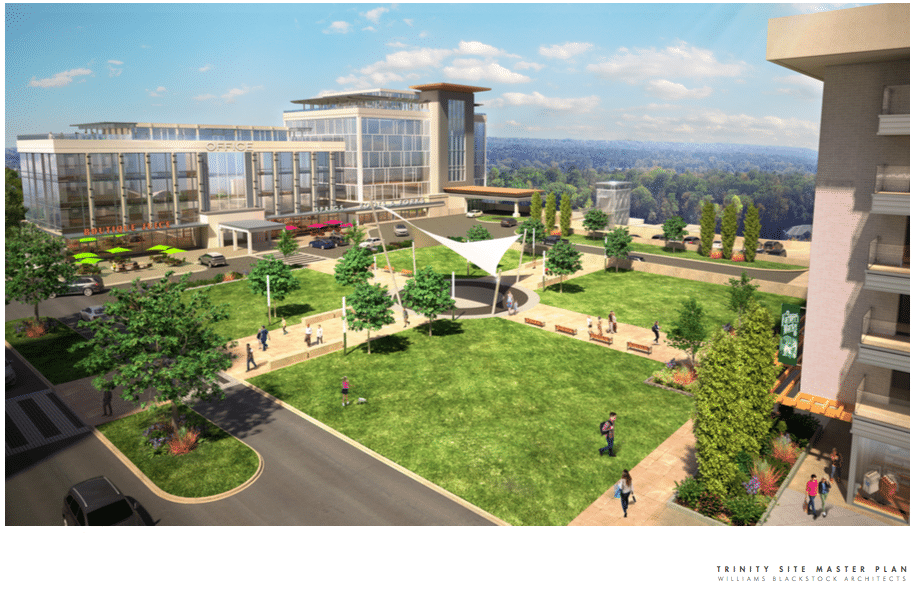 "Former Trinity Medical Center to become ""Arbor Terrace"" a $200 million development"
