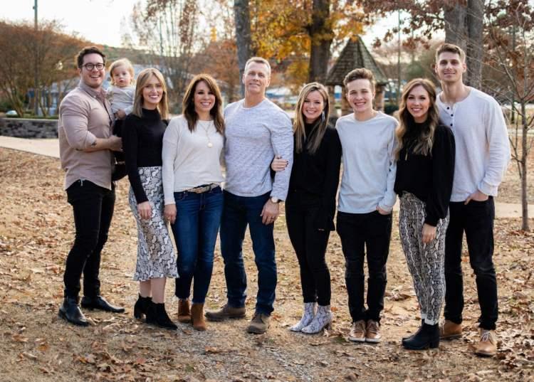Mark Hancock + family