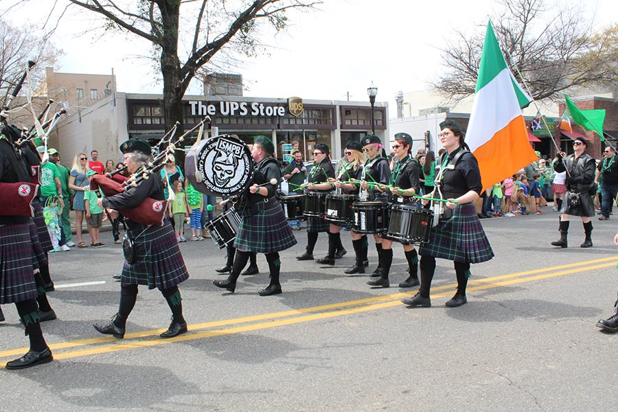 4 reasons you need to be at 5 Points South's St. Patrick's Day Parade Mar. 14