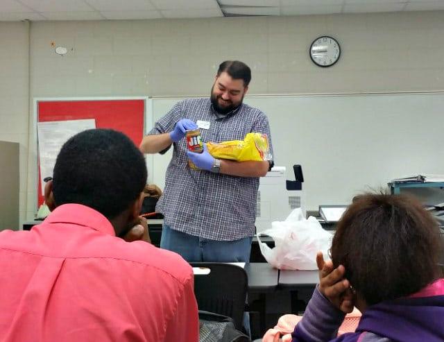 Blake Helms is a volunteer with the Microsoft TEALS Program