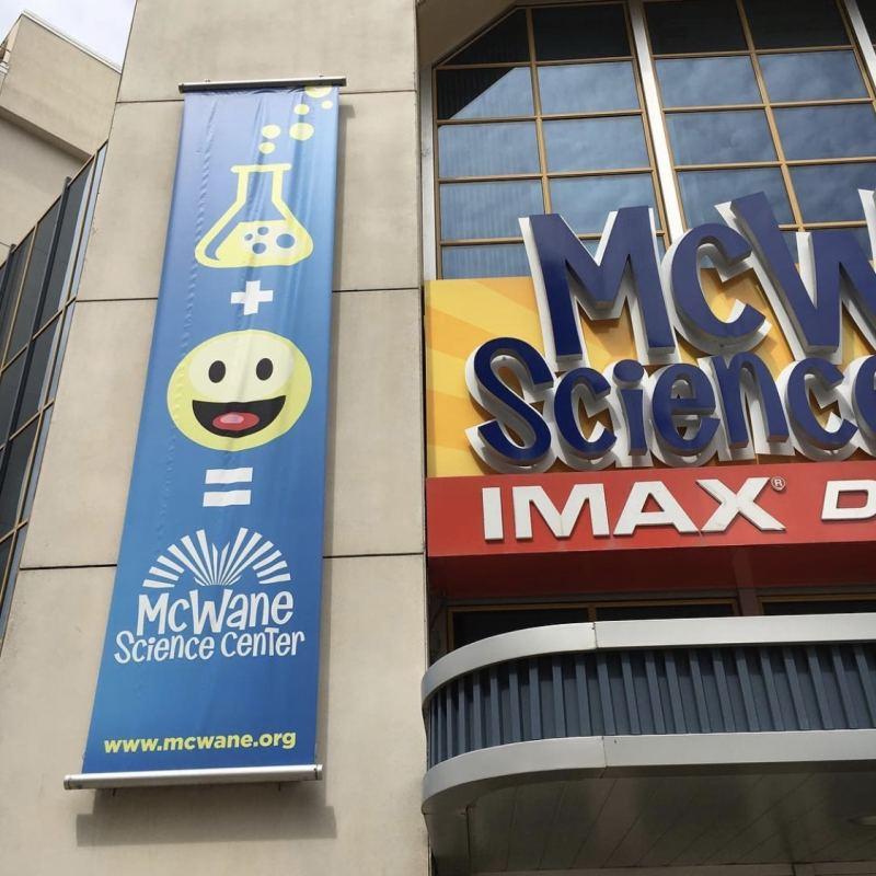 Birmingham, McWane Science Center, science experiments