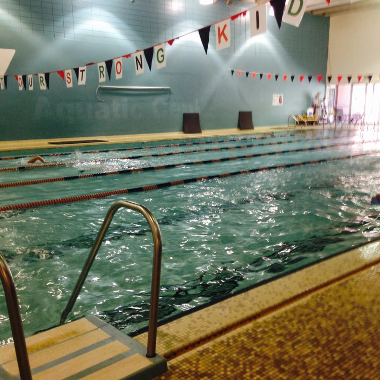 The YMCAs in Birmingham will have swimming pools open for lap swimming, ages 14+