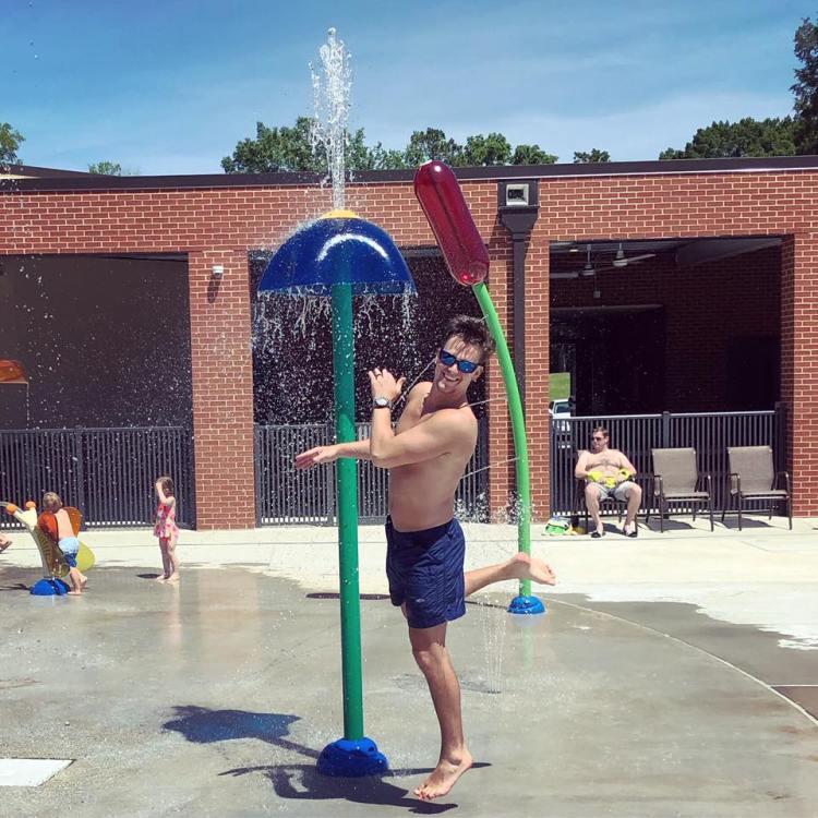 Birmingham, Homewood Parks & Recreation, splash pads