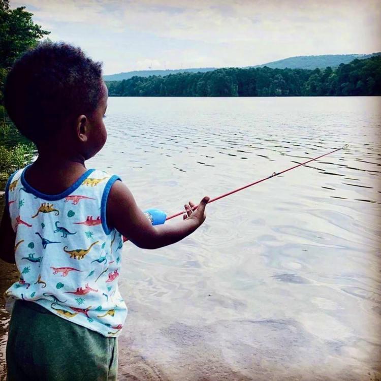 Birmingham, fishing, Oak Mountain State Park