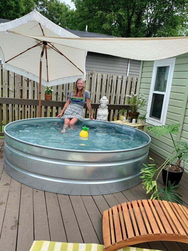 Local Trend Setters Install Stock Tank Pools Photos