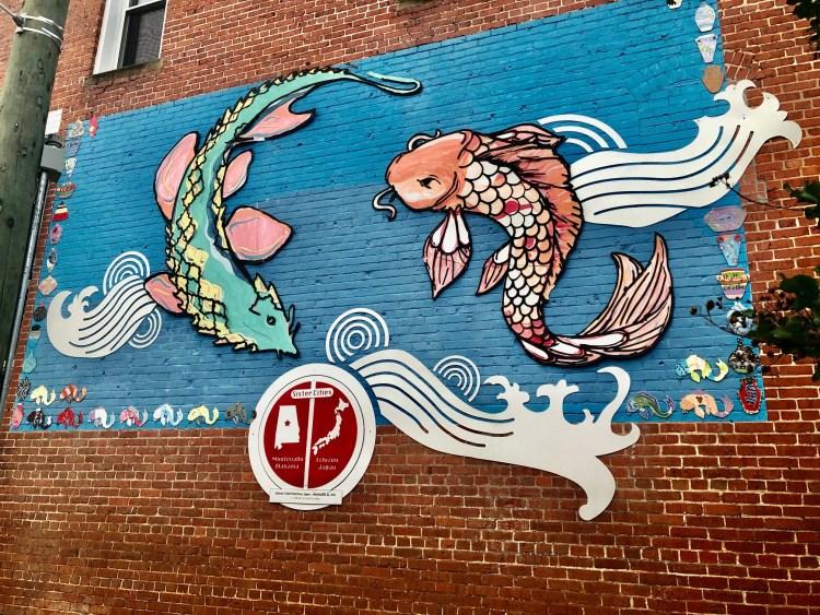Birmingham, Montevallo, Montevallo murals