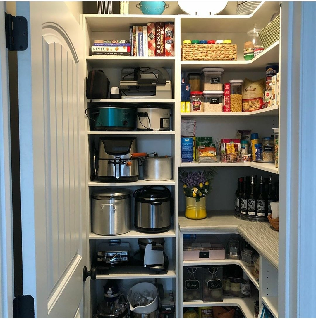 an organized pantry is a kid-friendly one