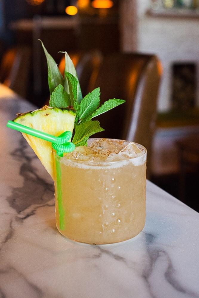 Birmingham, The Atomic Lounge, drinks, pina colada