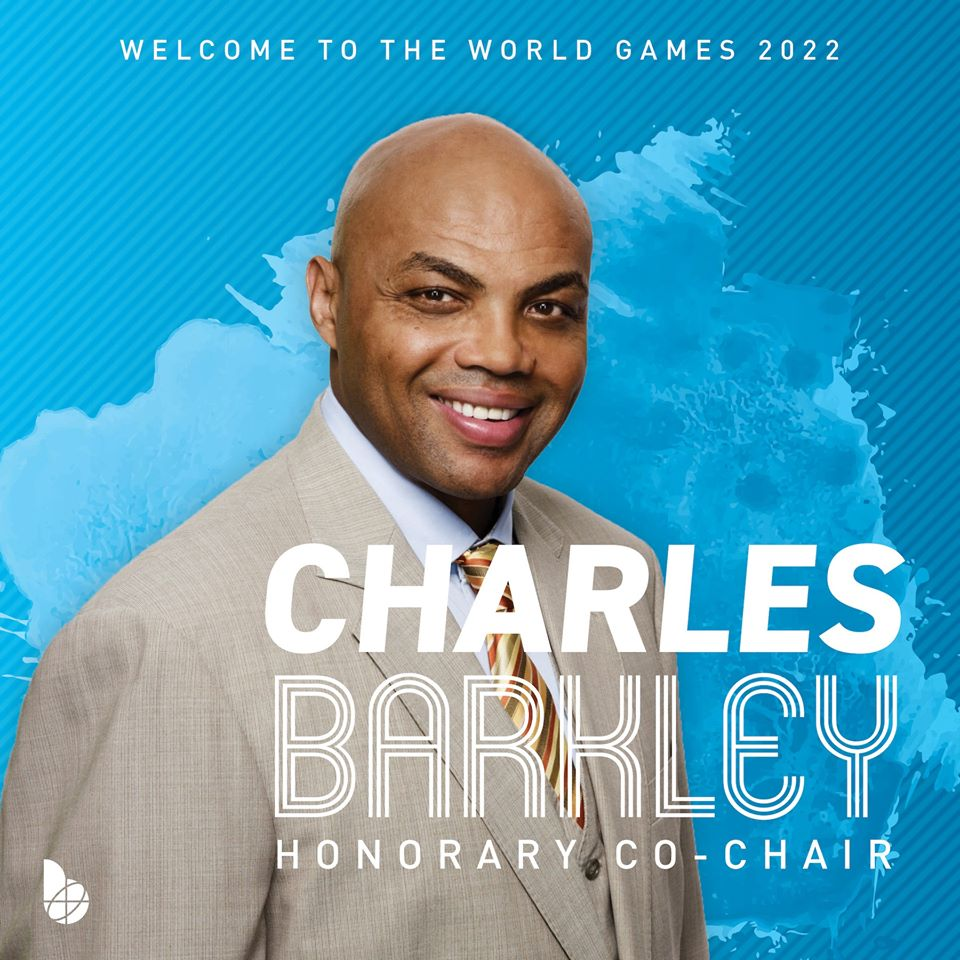 Charles Barkley named Honorary Co-Chair of The World Games