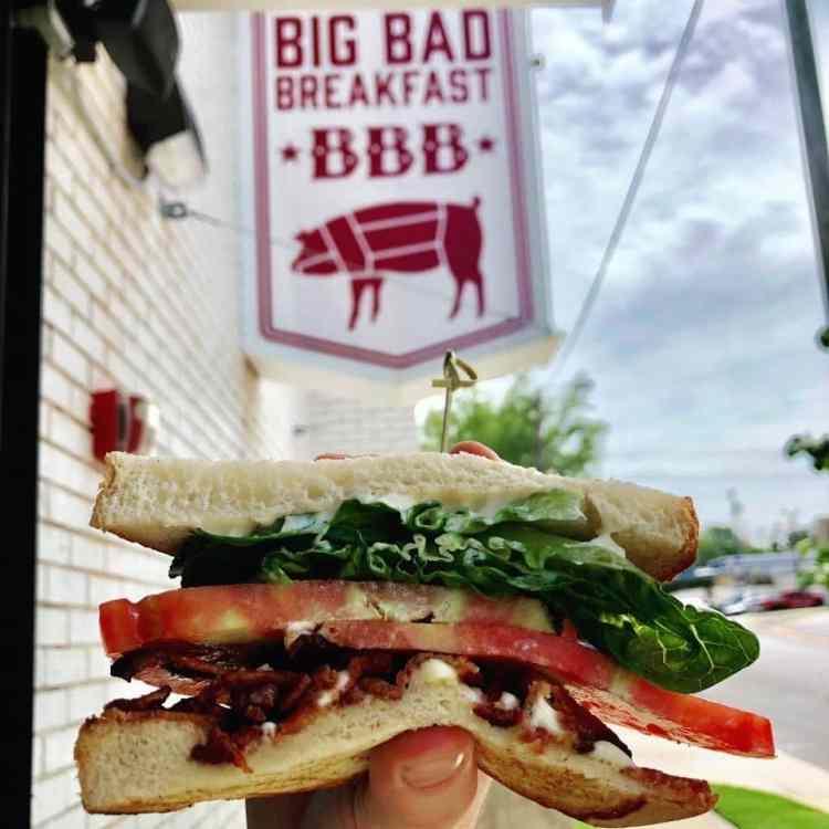 Birmingham, Big Bad Breakfast, BLT, sandwiches