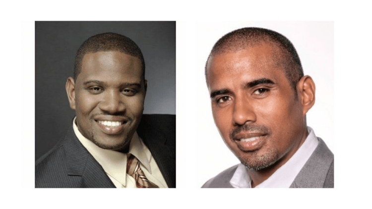 SynsorMed founder Theo Harvey + cofounder Amin Holmes