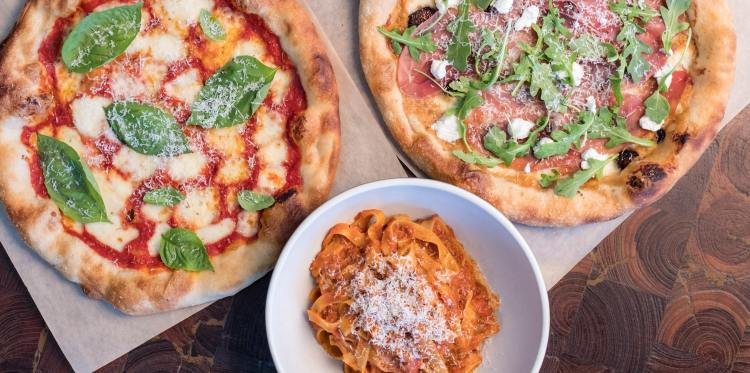 pizza and pasta from North Italia, which is headed to The Summit in Birmingham