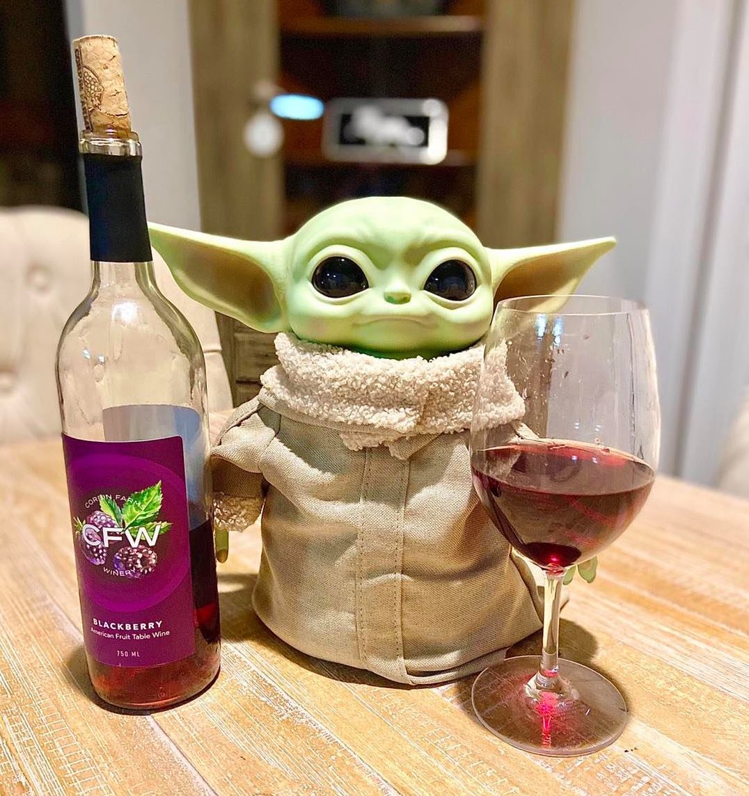 Birmingham, Corbin Farms Winery, Yoda