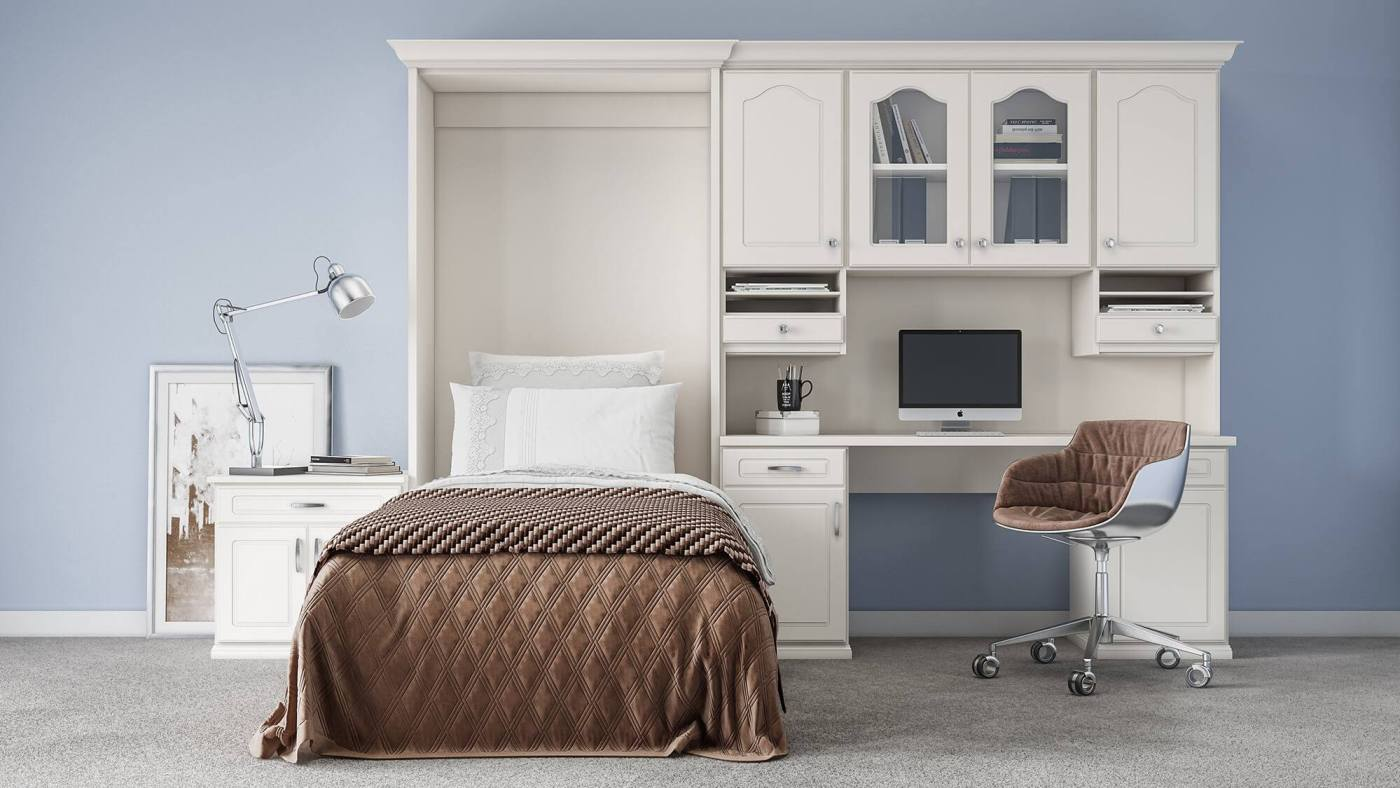 a Murphy Bed for working at home in Birmingham
