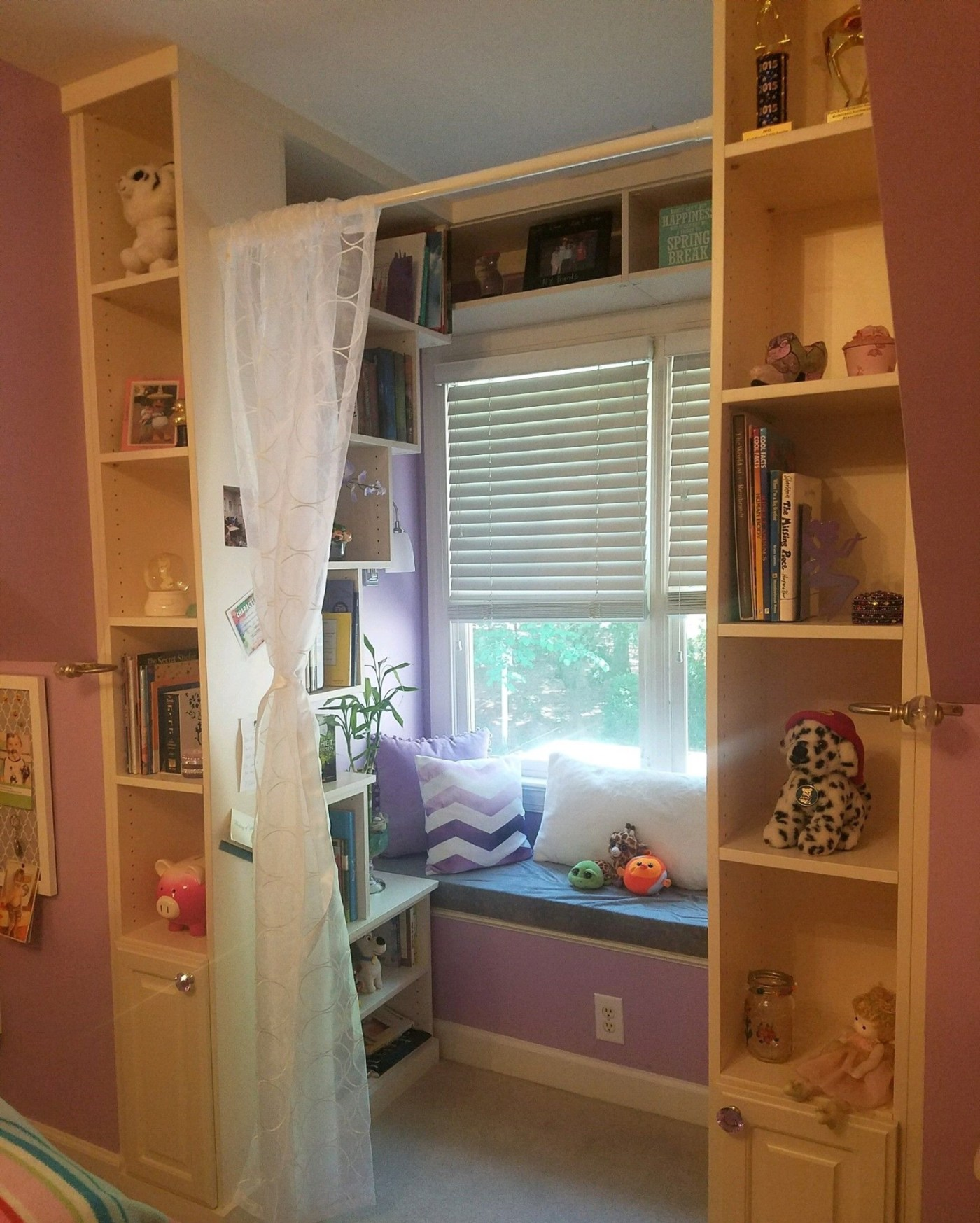 a reading nook to make your kids happy when you're working from home in Birmingham