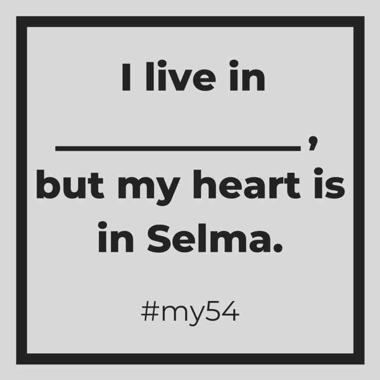 #My54 is a chance to move and make a difference