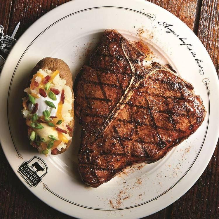 Birmingham, Saltgrass Steak House, steak