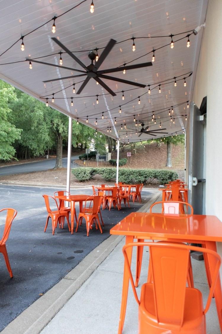 Bay Leaf summer patio