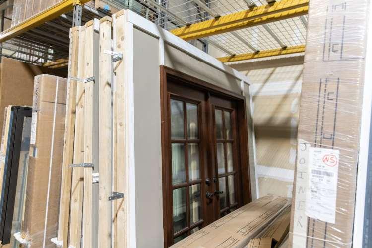 Hinge doors at Pella in Birmingham