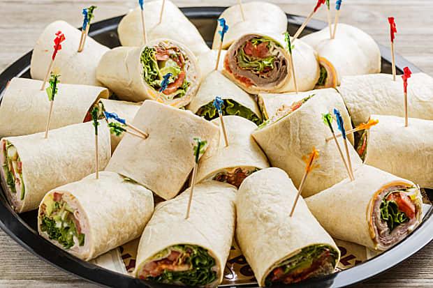 Food for homegate celebration